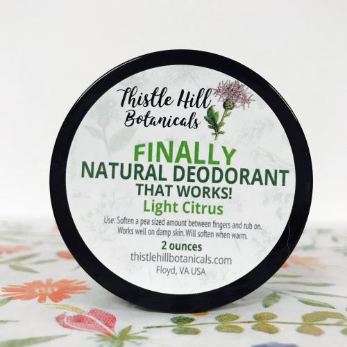Finally! Natural Deodorant that Works