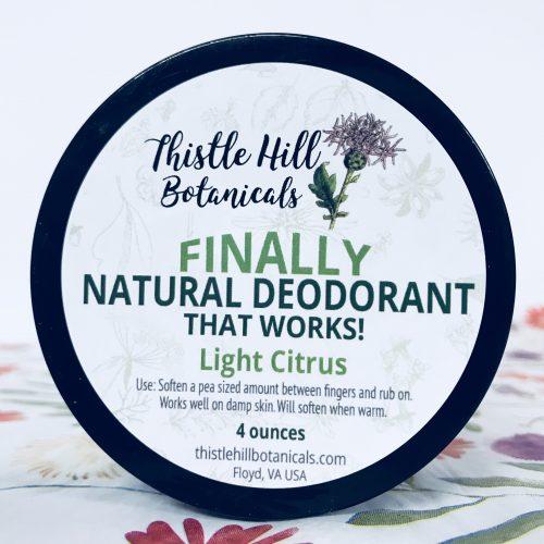 Thistle Hill Botanicals Citrus Deodorant