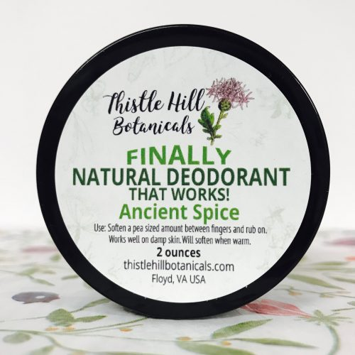 Ancient Spice Natural Deodorant