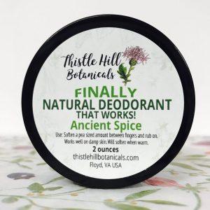 Ancient Spice Natural Deodorant