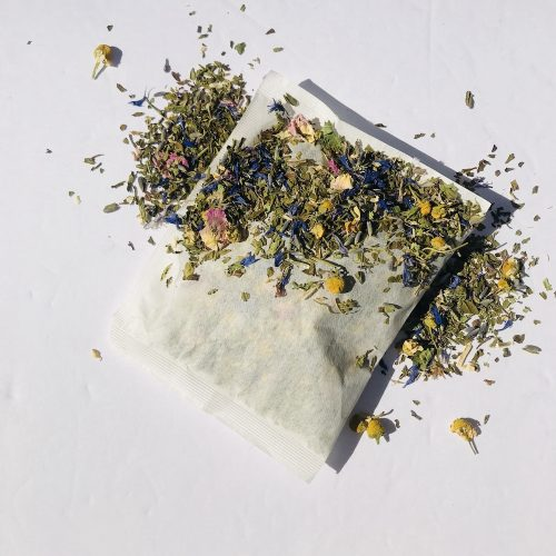 Organic Flowers and Herbs Bath Tea