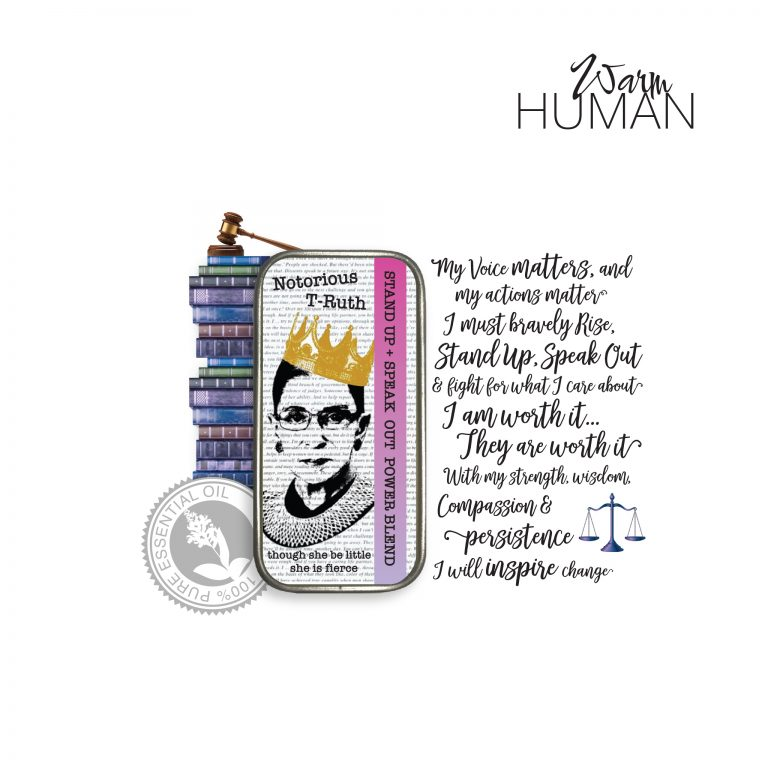 RBG Stand Up Speak Out Solid Perfume