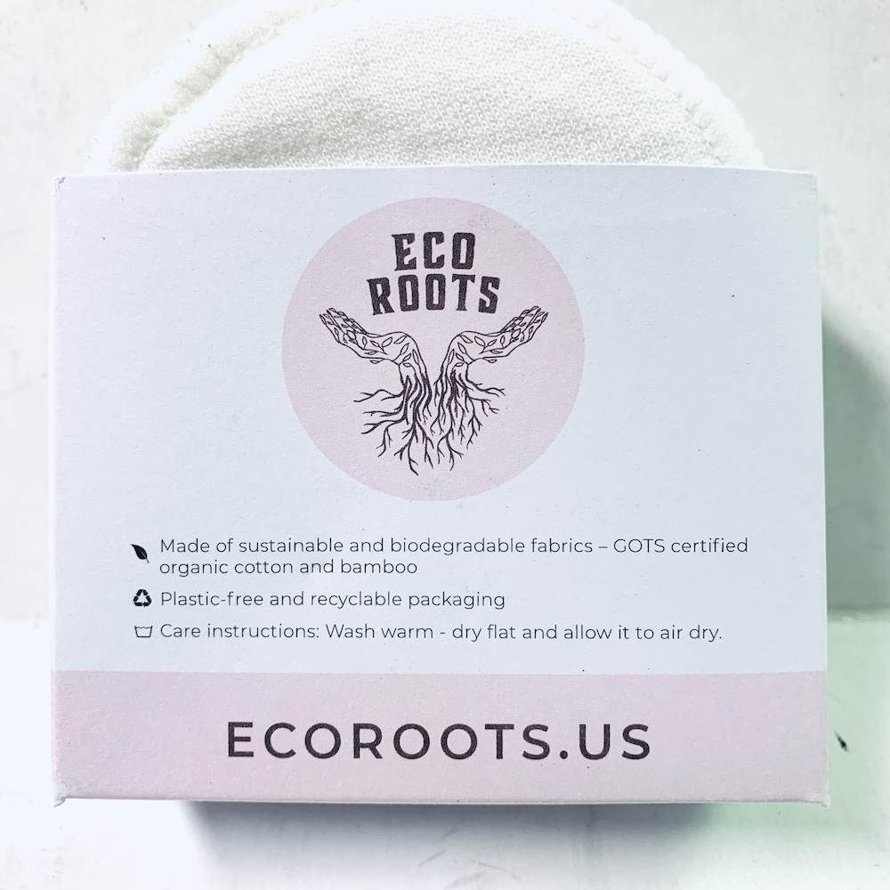 Zero Waste Bamboo and Cotton Facial Cleansing Pads