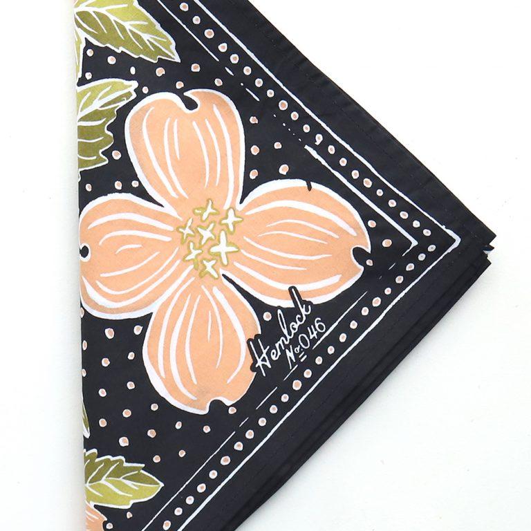 Botanical Bandana- USA - Wearable ARt