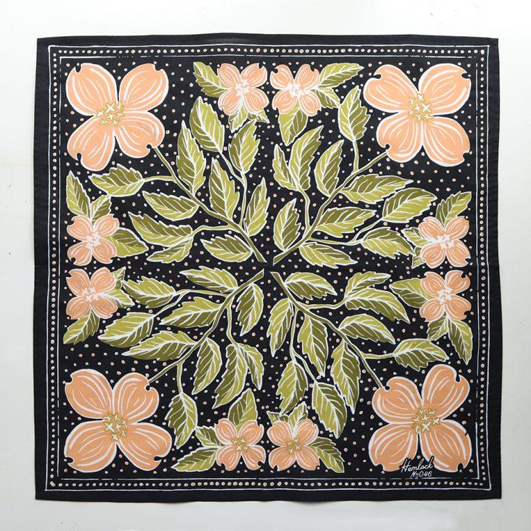 Cotton Bandana- USA- Original Art