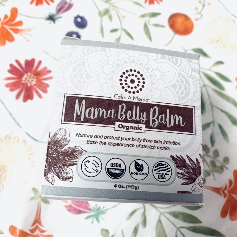 Organic, Soothing Belly Balm for Mamas