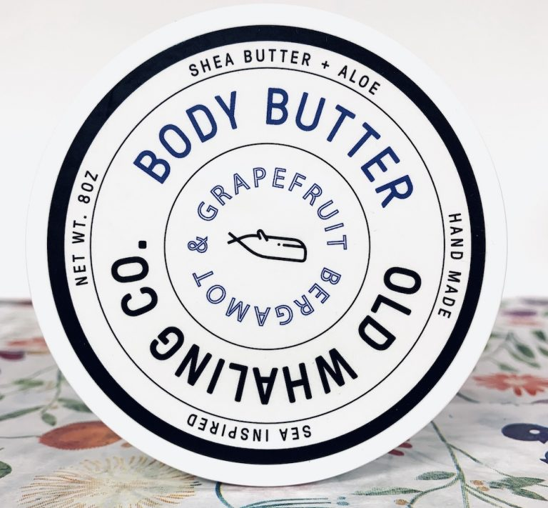 Grapefruit and Bergamot Shea Body Butter 8 oz.