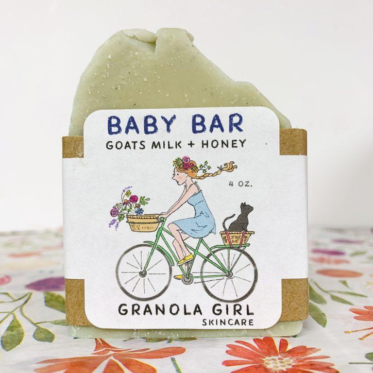 Gentle Baby Bar Soap- Zero Waste