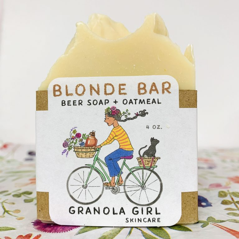 Bar Soap with Beer!