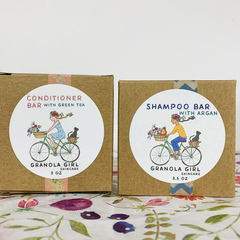 Zero Waste Shampoo & Conditioner Bar Set