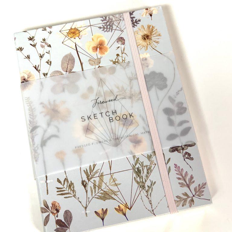 Vegan Botanical Sketch book