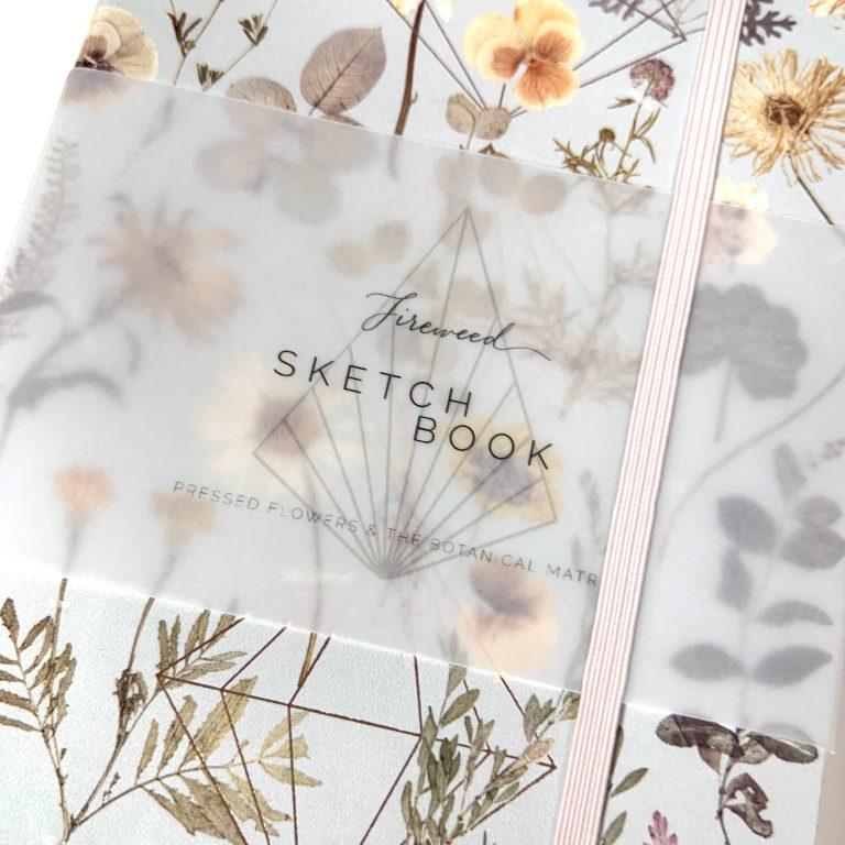 Vegan Leather Sketchbook