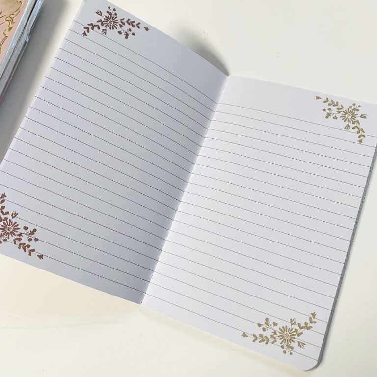 Pocket sized notebook
