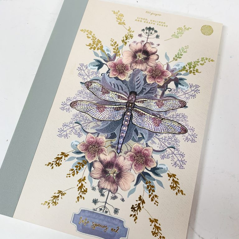 Dragonfly Clothbound Notebook