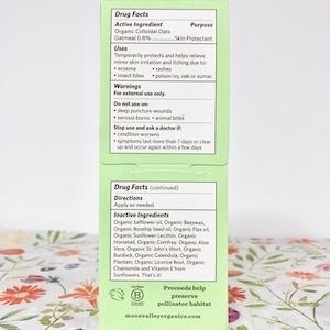 Back of Eczema Label